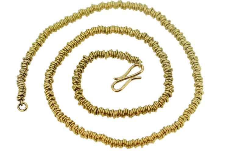 Collier Ösen aus Gold