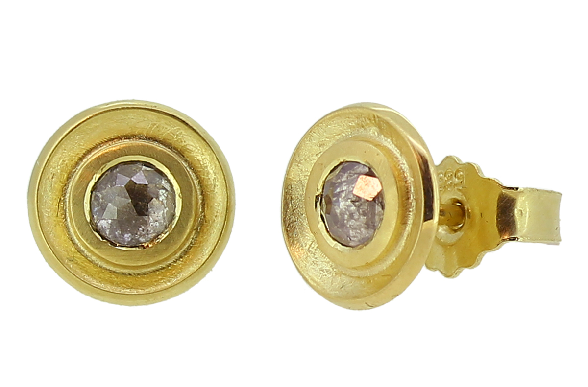 Diamantrosen Goldstecker