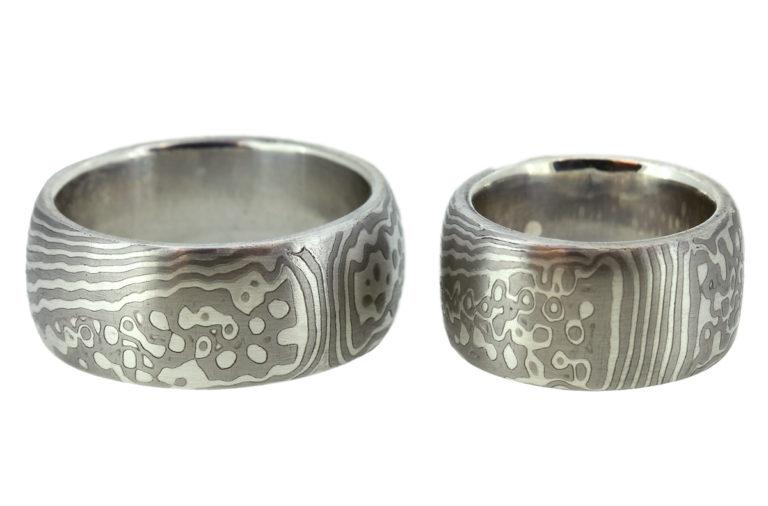 Mokume Gane Palladium Silber